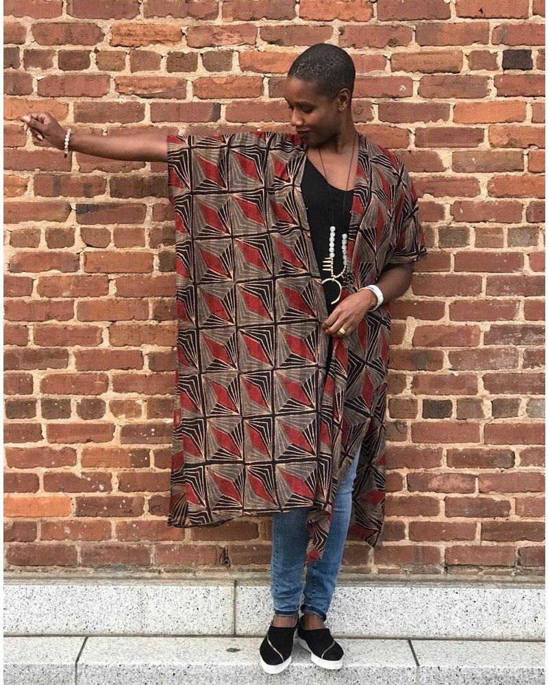 Maelu Designs Maelu Long Kimono