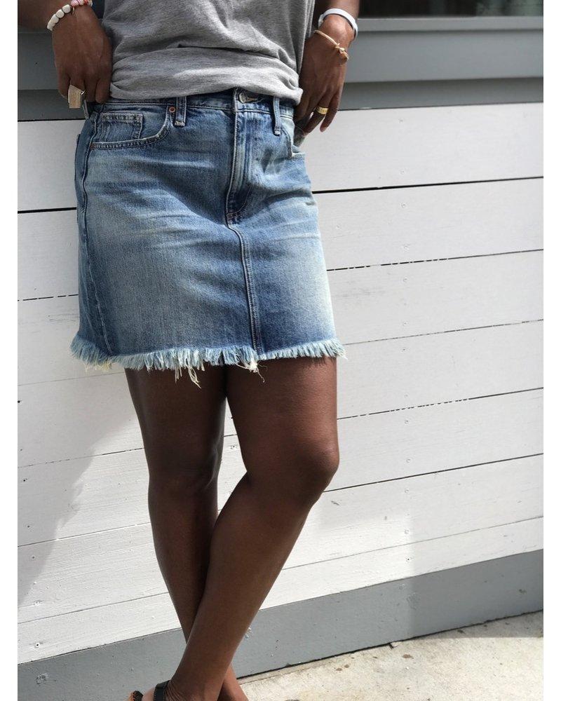 76ffe737de Lucky Brand Old Favorite Mini Skirt - Squash Blossom Boutique