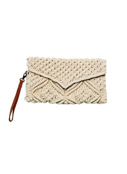 San Diego Hat Co SDH Macrame Clutch