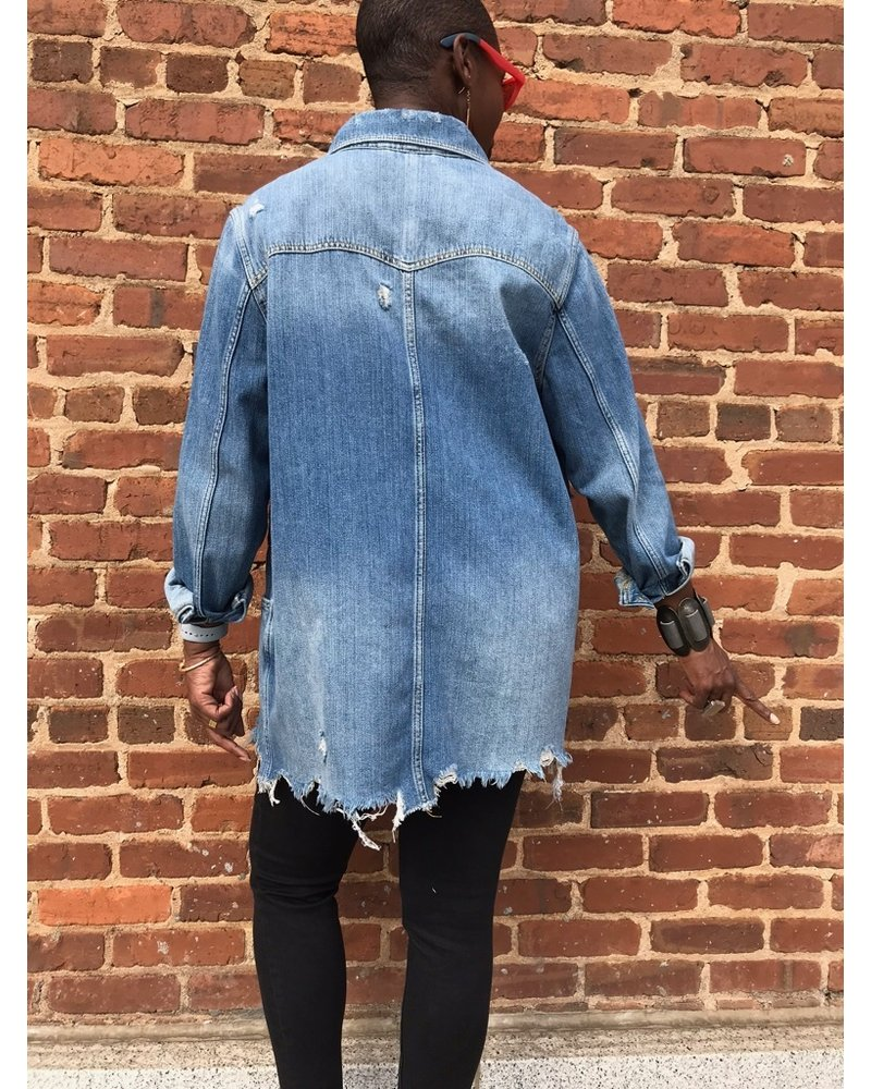 Free People FP Moonchild Shirt Jacket