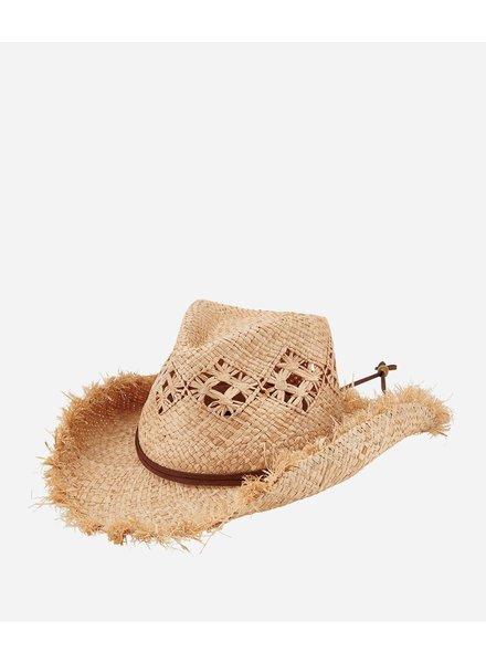 San Diego Hat Co SDH Raffia Cut Cowboy
