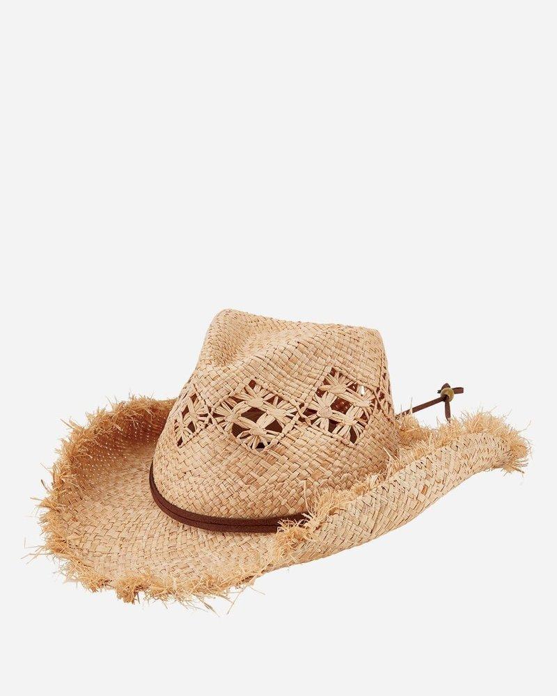 San Diego Hat Co San Diego Hat Co Raffia Cut Cowboy