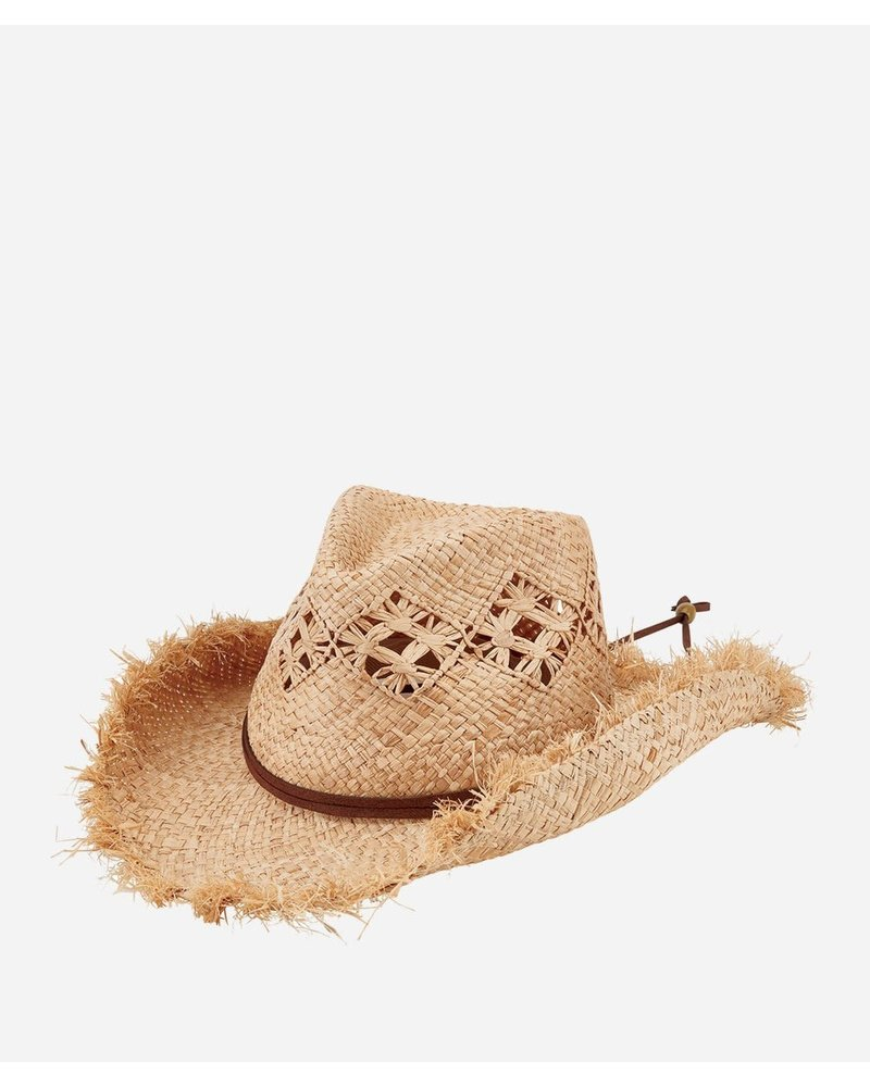 San Diego Hat Co SDH Raffia Cut Cowboy