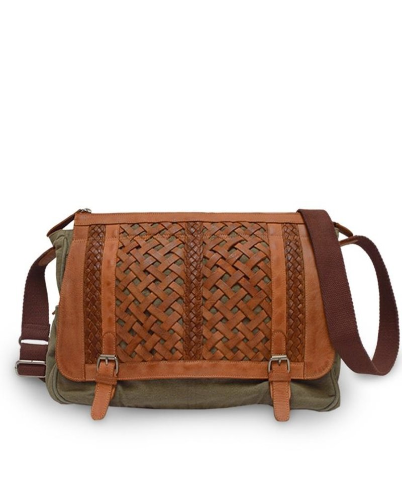 Anabaglish AnaBaglish Woven Abby Bag
