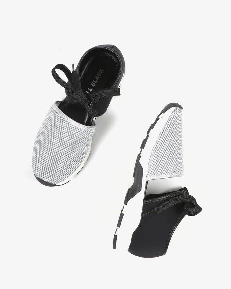 All Black AllBlack Solid Mesh Sneaker