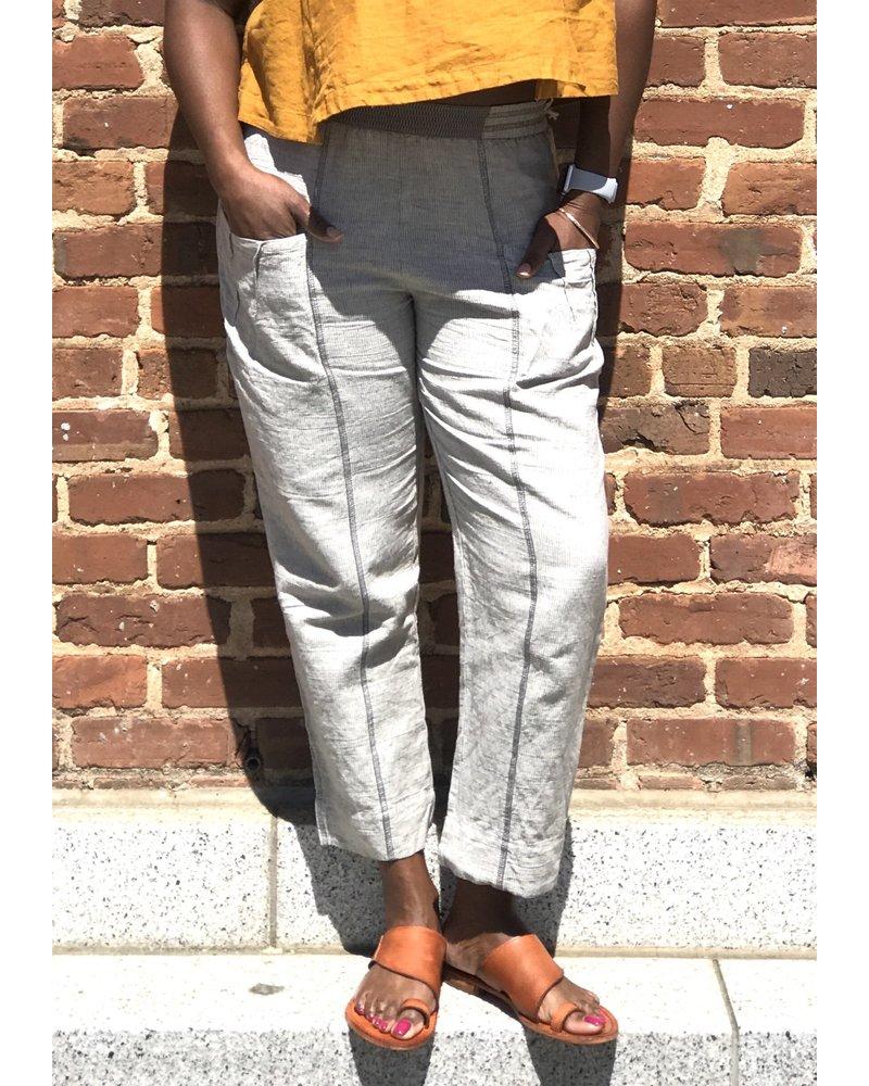 Yuvita Yuvita Slate Stripe Pant