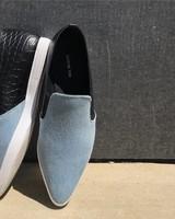 All Black AllBlk Croc Toe Casual
