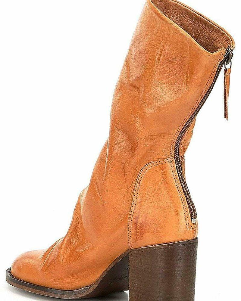 Free People Free People Elle Block Heel Boot