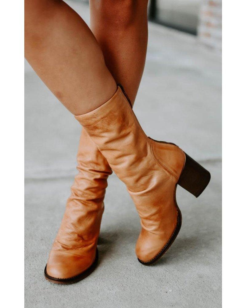 Free People FPS Elle Block Heel Boot