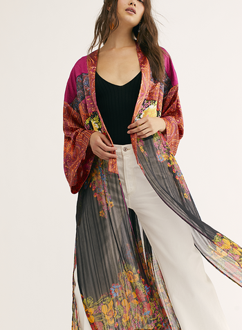 Free People FP Young Love Kimono