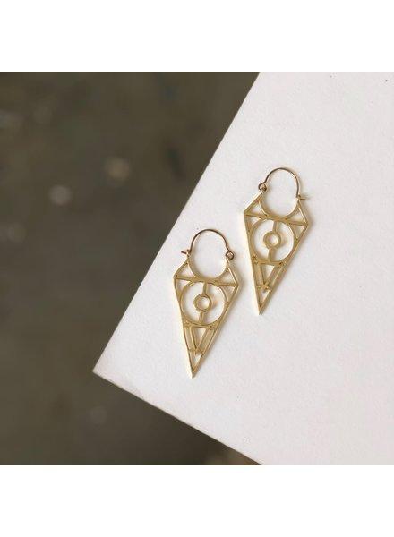 Boho Gal Jewelry BohoGal Fabio Earrings