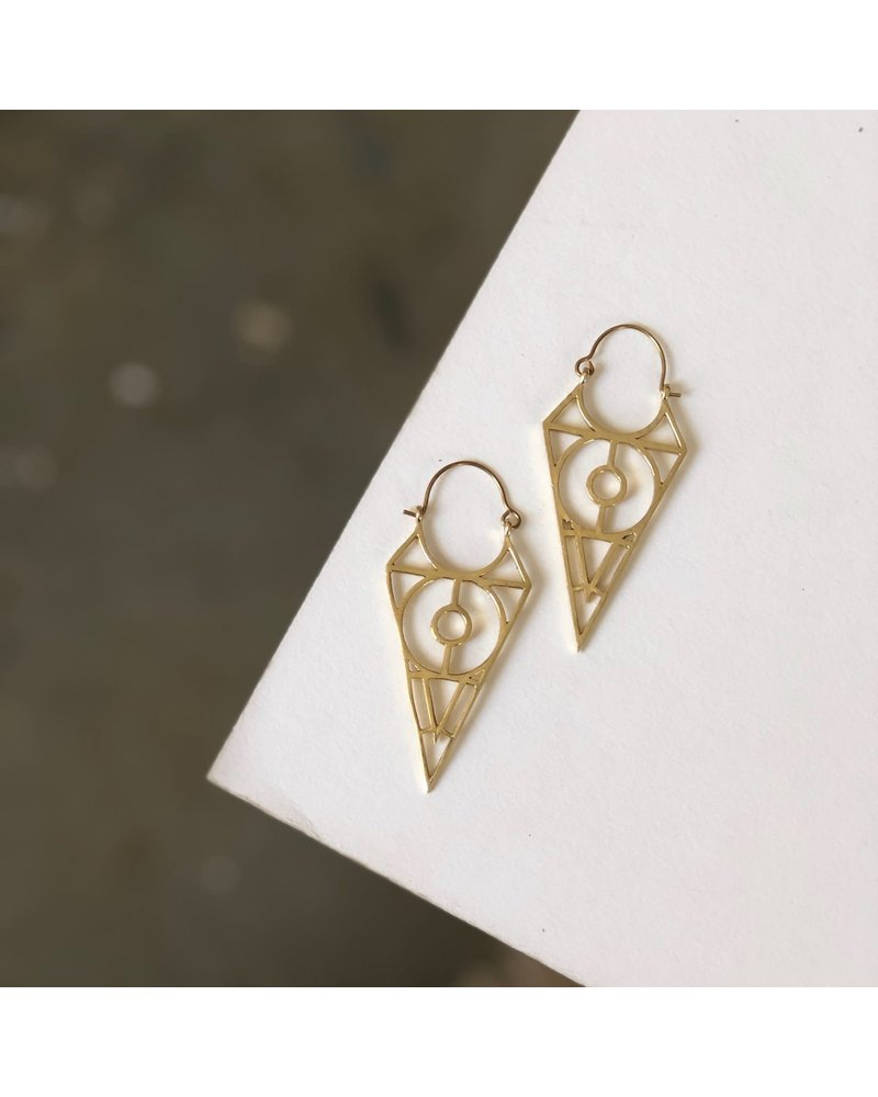 Boho Gal Jewelry BohoGal Fabio Earrings