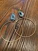 Boho Gal Jewelry BohoGal Druzy Hoop Earrings