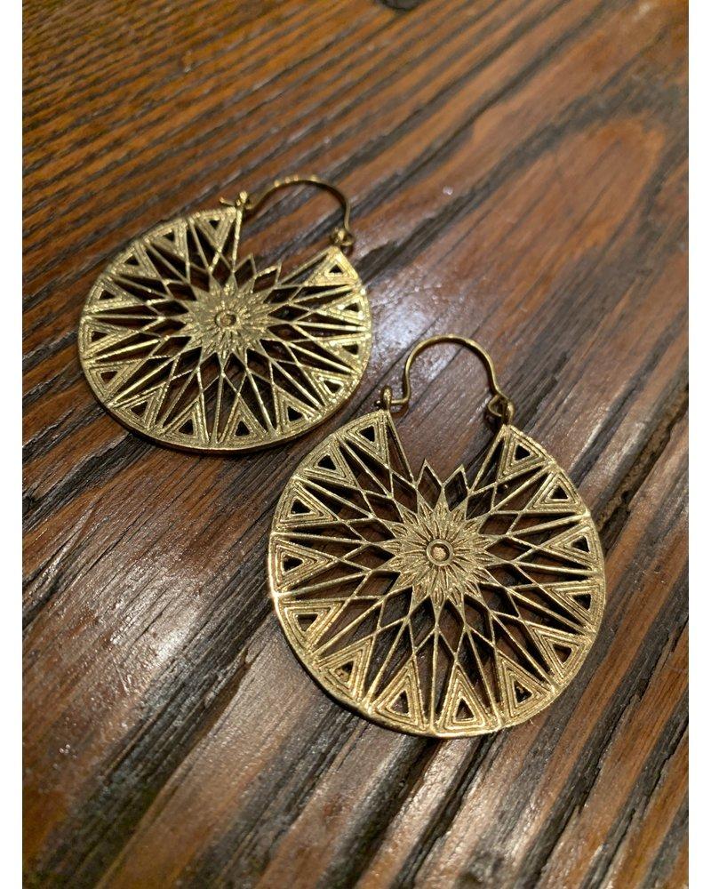 Boho Gal Jewelry BohoGal Sunburst Earrings