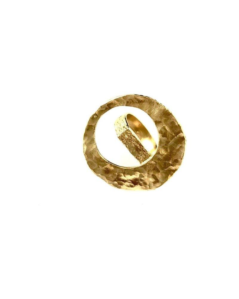 Boho Gal Jewelry BohoGal Round Drop Ring