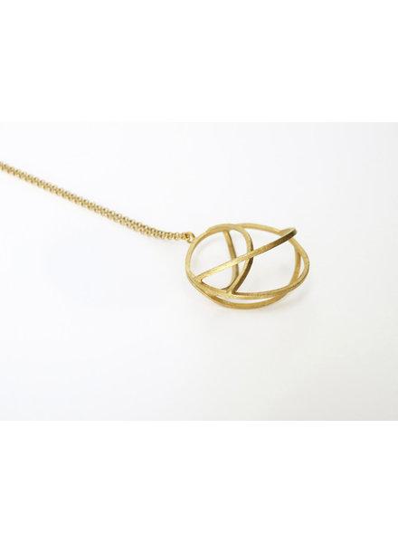 Joi D'art Joi D'art Globe 123G Necklace