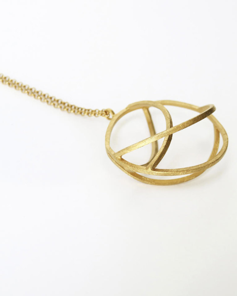 Joi D'art Globe 123G Necklace