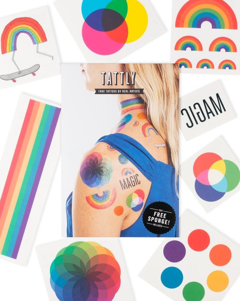 Tattly Tattly Temp Tattoo with Sponge