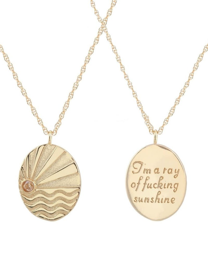 Kris Nations Kris Nations Ray of Sunshine Necklace