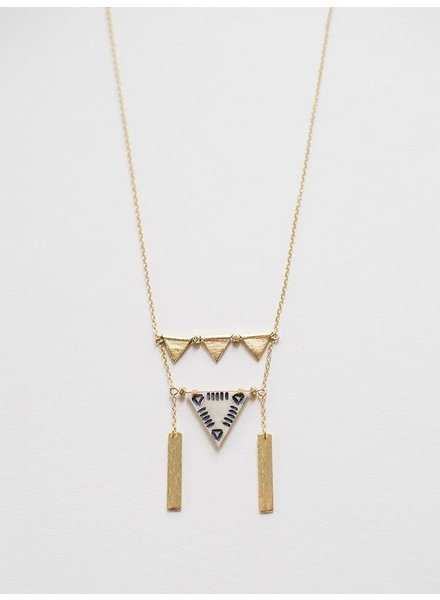Mata Traders Triangles Necklace