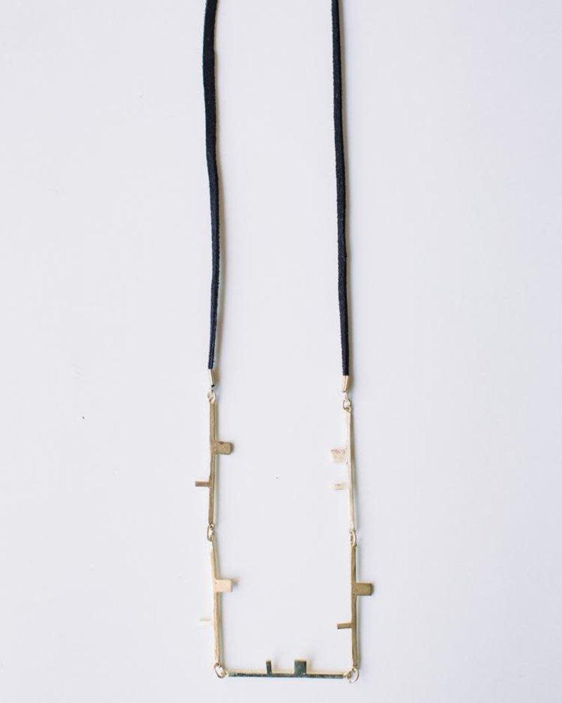 Mata Traders Mata Traders Salvador Gold Necklace