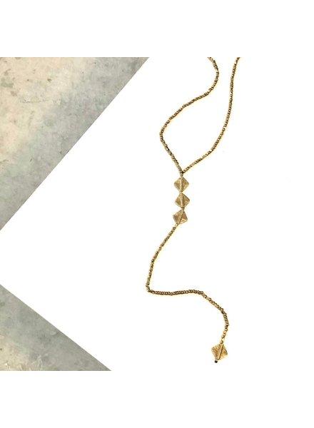 Boho Gal Jewelry Fahra Y Necklace