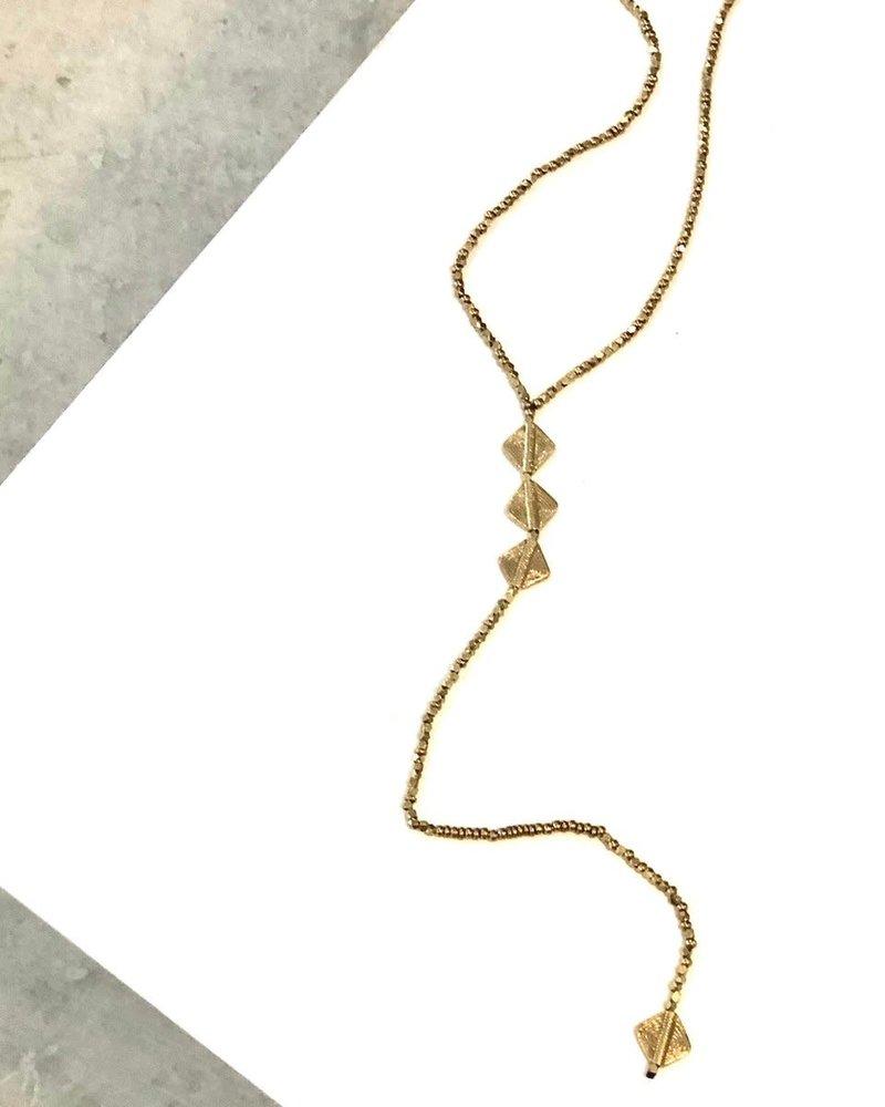 Boho Gal Jewelry Boho Gal Fahra Y Necklace