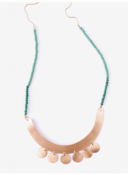Mata Traders MataT Bib and Coin Necklace