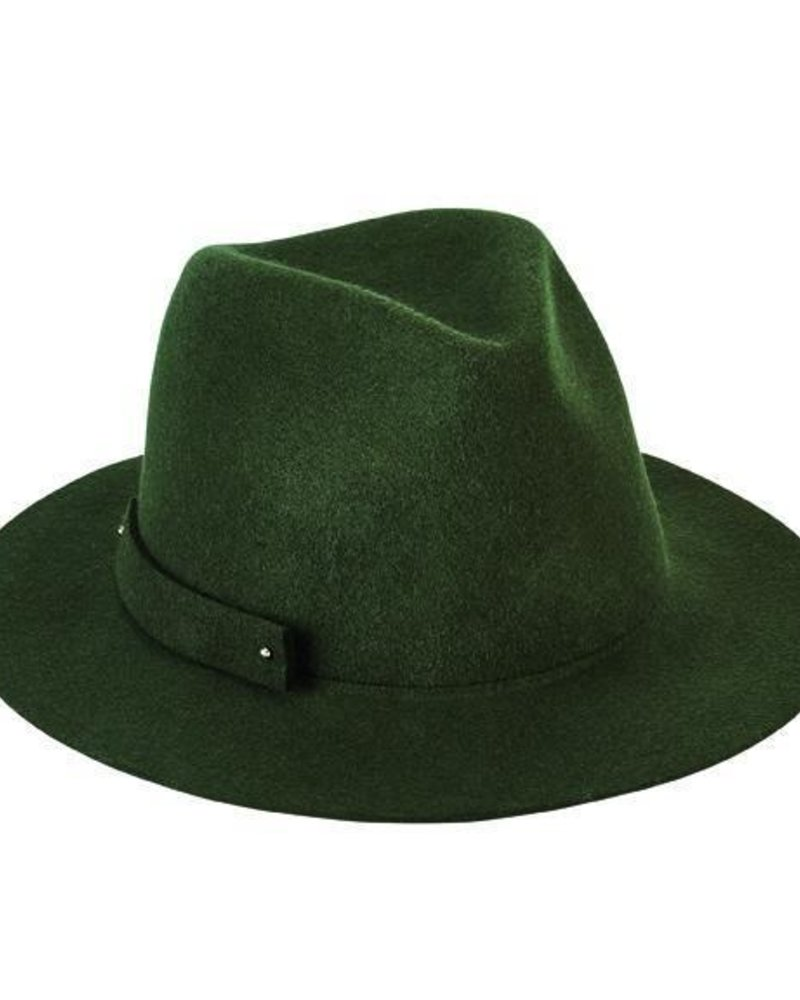 San Diego Hat Co San Diego Hat Co Packable Felt Fedora Hat