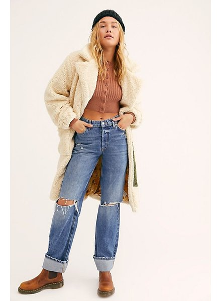 Free People FP Tessa Teddy Coat