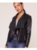 BB Dakota/Jack BBD Teagan Faux Leather Jacket