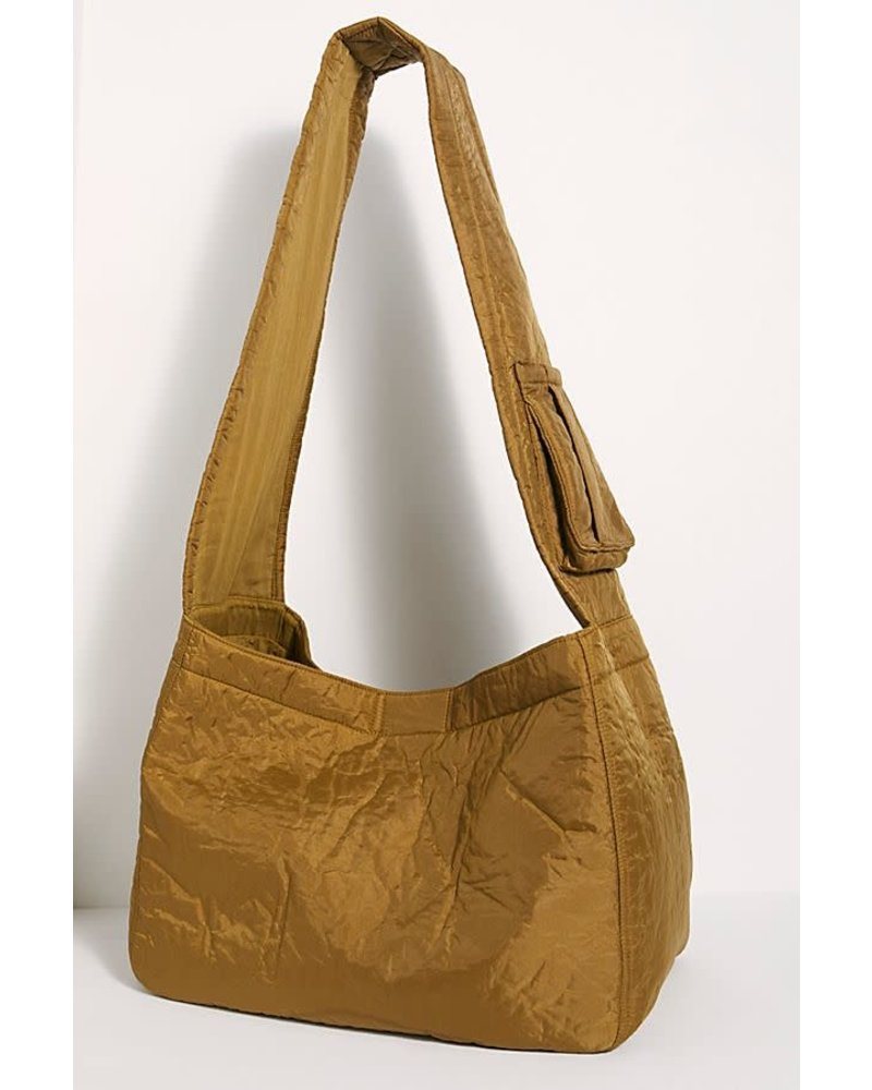 Free People FP WTF Oversized Puffer Sling Bag