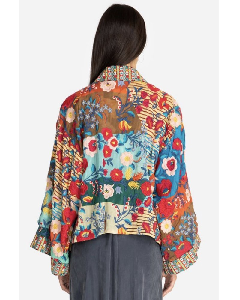 Johnny Was Jwas Kiki Crop Kimono