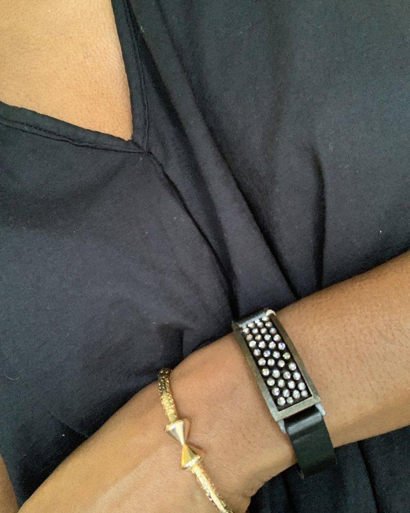 Rebel Designs RebelD 5259 Bling Bar Bracelet