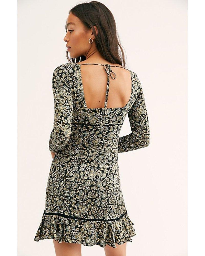 Free People FP Boheme Mini Dress