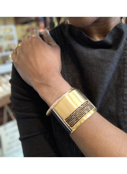 Rebel Designs RebelD Top Bling Bar Bracelet