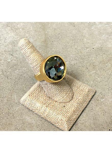 Rebel Designs Single Crystal Ring