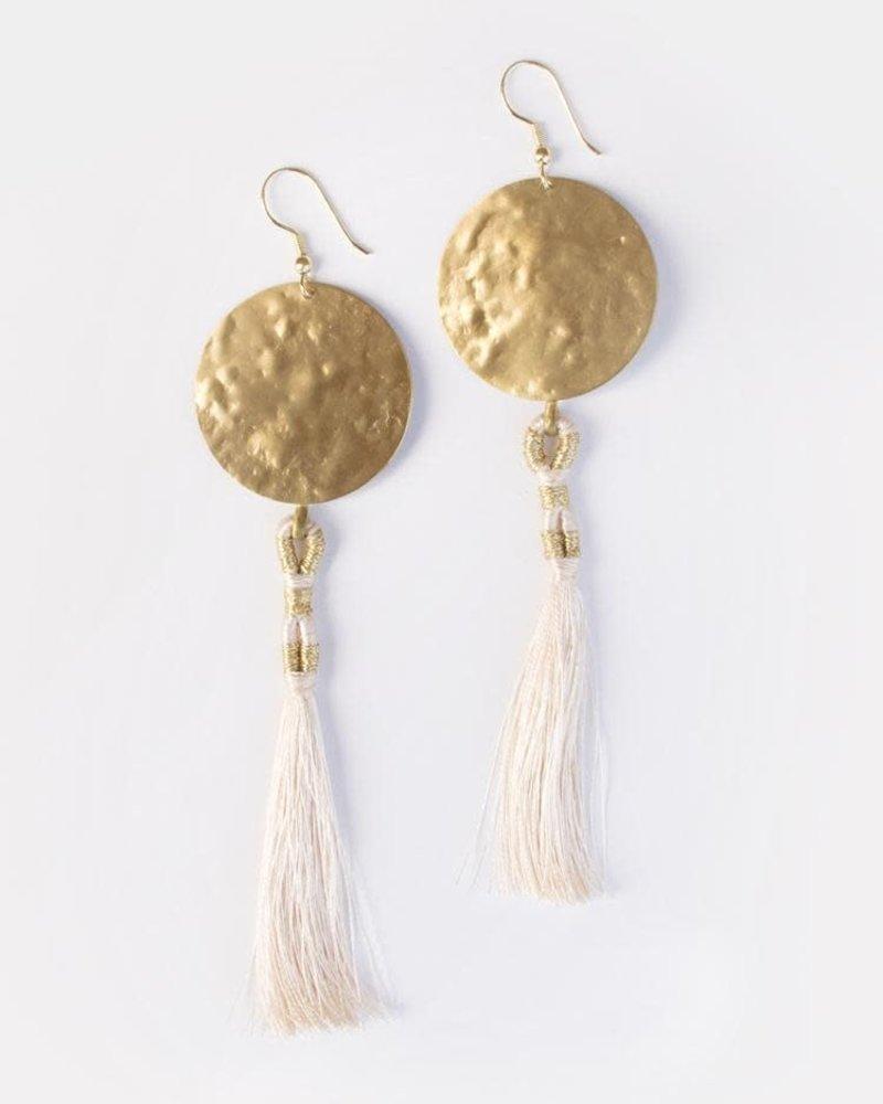 Mata Traders Mata Traders  La Luz Earrings Gold