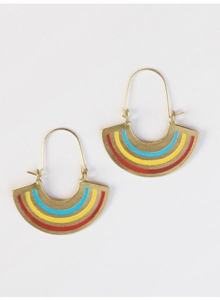 Mata Traders MataT Petite Rainbow Earrings