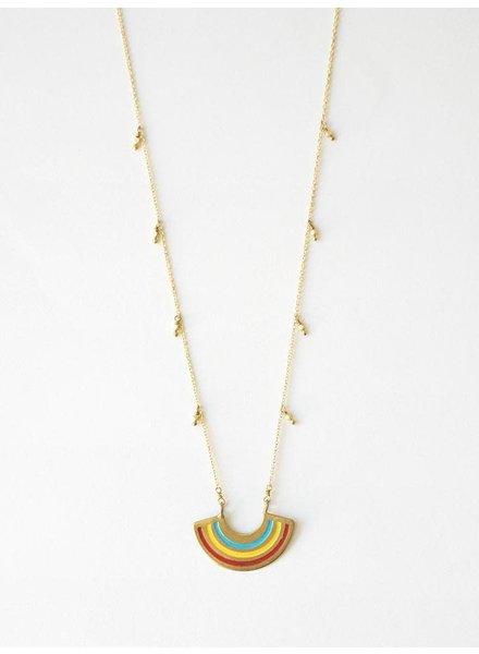 Mata Traders MataT Petite Rainbow Necklace