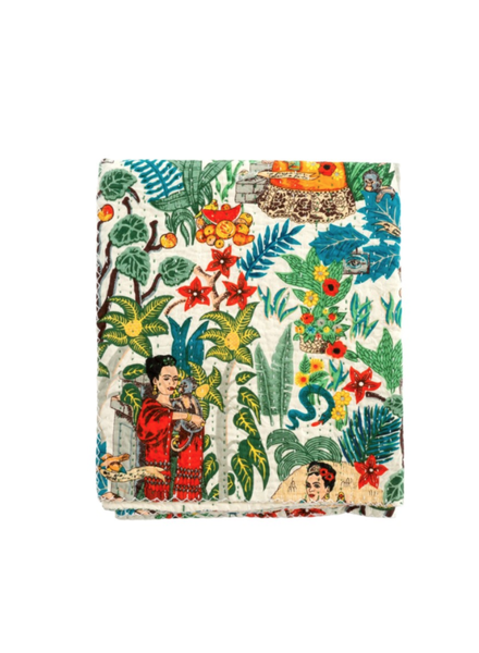 Indaba Frida Dreams Quilted Throw