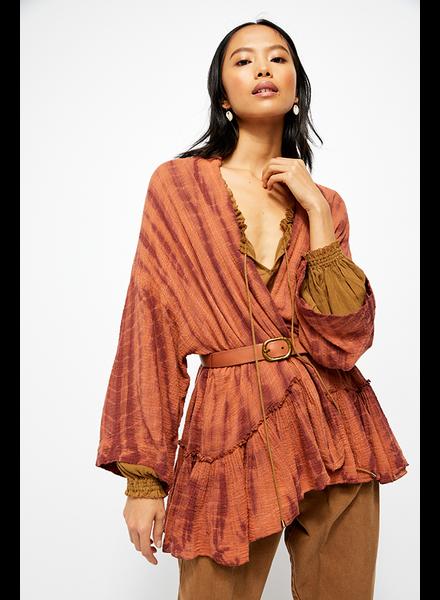 Free People Sasha Tie Dye Kimono