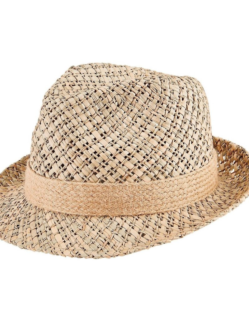San Diego Hat Co SDH Seagrass Fedora