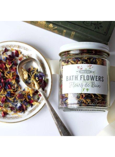 Dot & Lil Bath Flowers