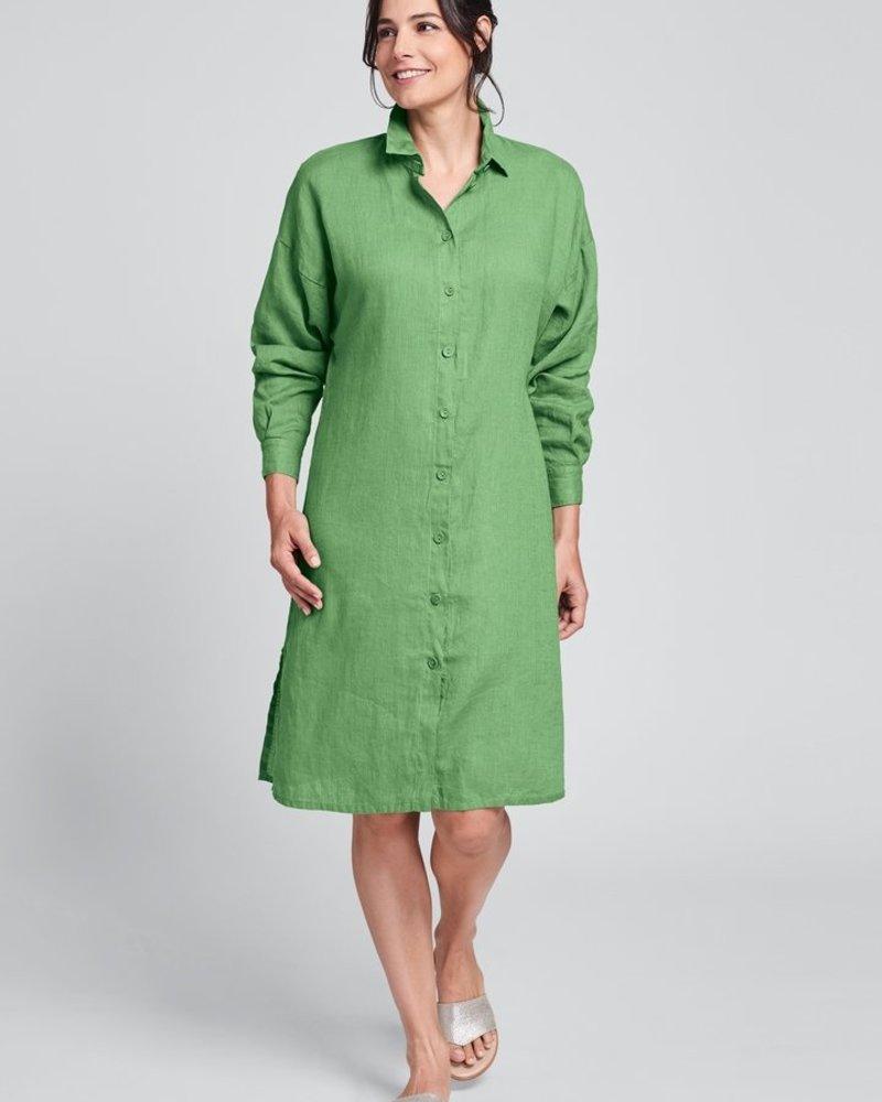 Flax Flax Shirtdress Duster