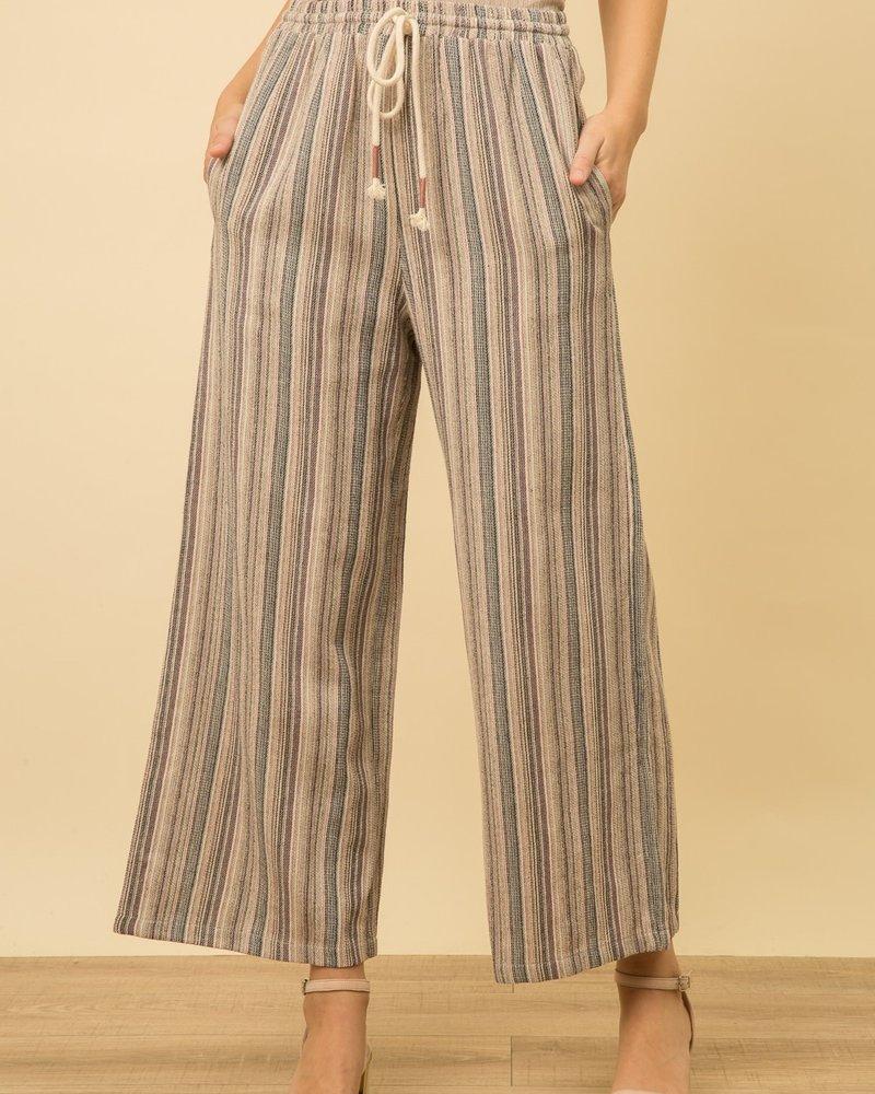Mystree Mystree Yarn Dye Stripe Pant