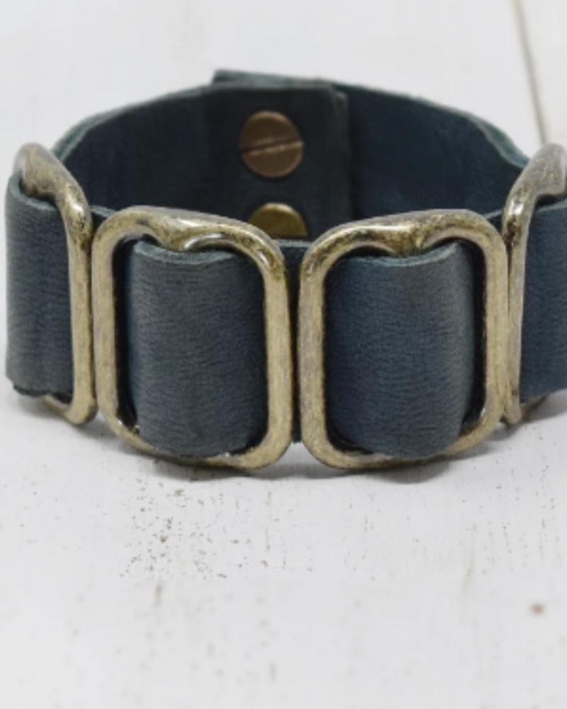 Giving Bracelets GB Fancy Leather Cuff