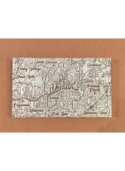 Fire & Pine Decatur Map