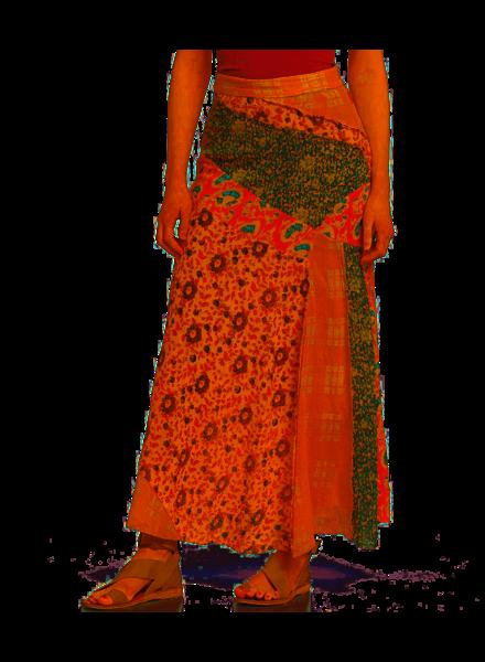 Free People Free People Palma Patchwork Skirt