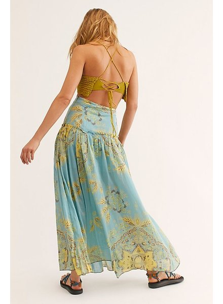 Free People Farrah Drop Waist Skirt